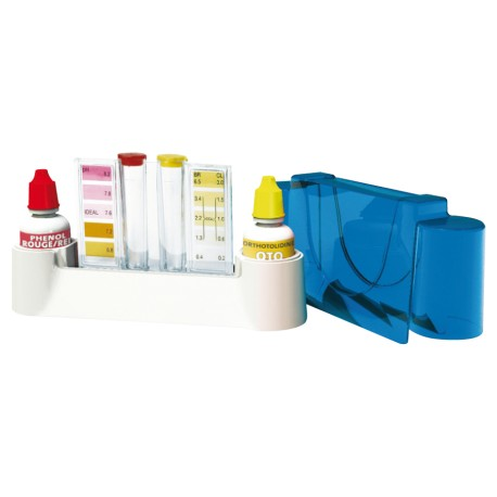 Trousse d'analyse chlore/br/ph