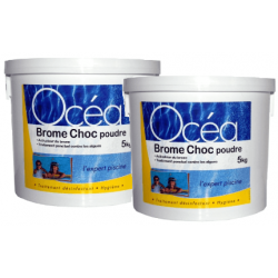 Brome choc poudre Pack 2 x...